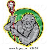 164x175 Royalty Free Lacrosse Stick Stock Logo Designs