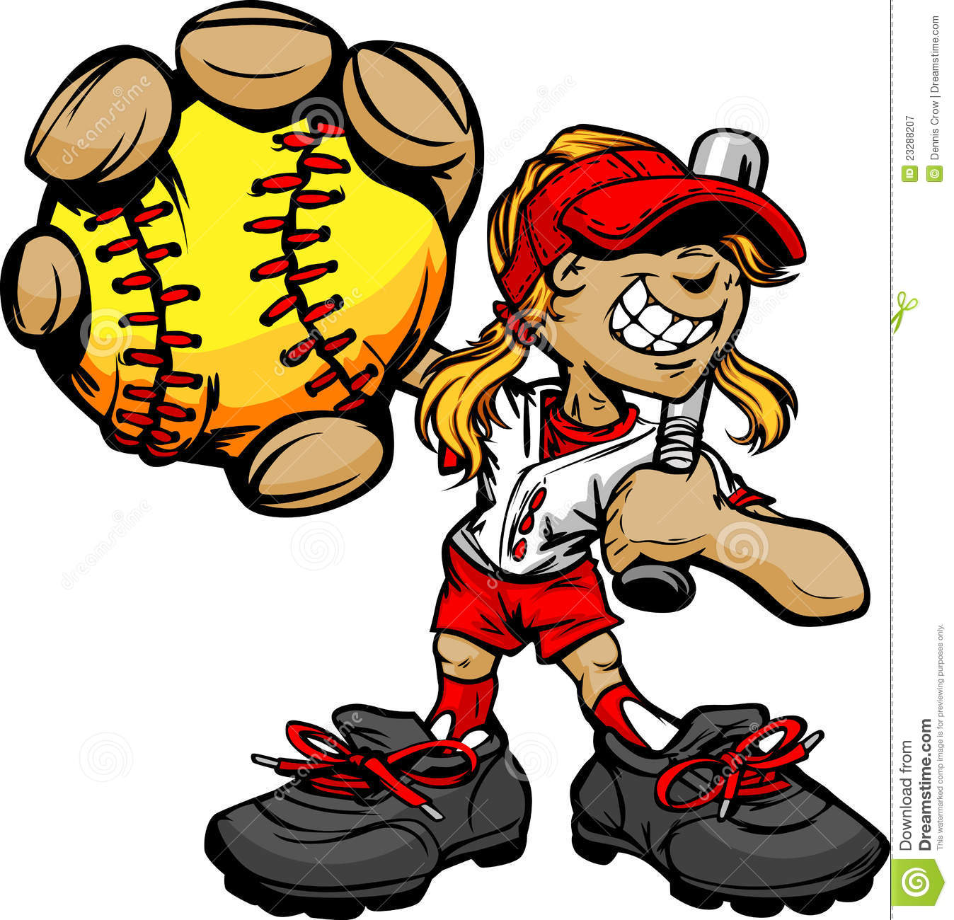 1348x1300 Girl Clipart Softball Player