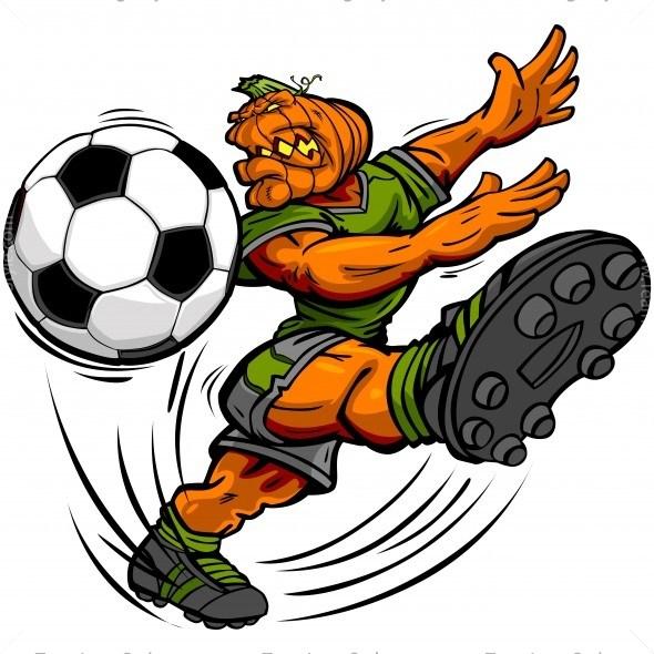 590x590 Halloween Soccer Clip Art