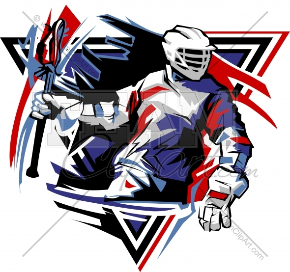 590x554 Lacrosse Design Graphic Image. Easy To Edit Vector Format.