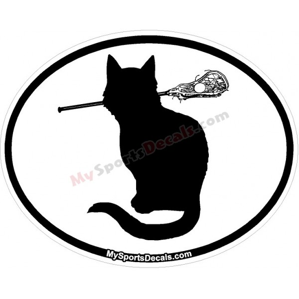 600x600 Pet Lacrosse Oval Decal And Magnets