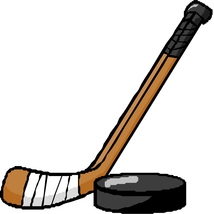 750x750 Hockey Stick Clipart