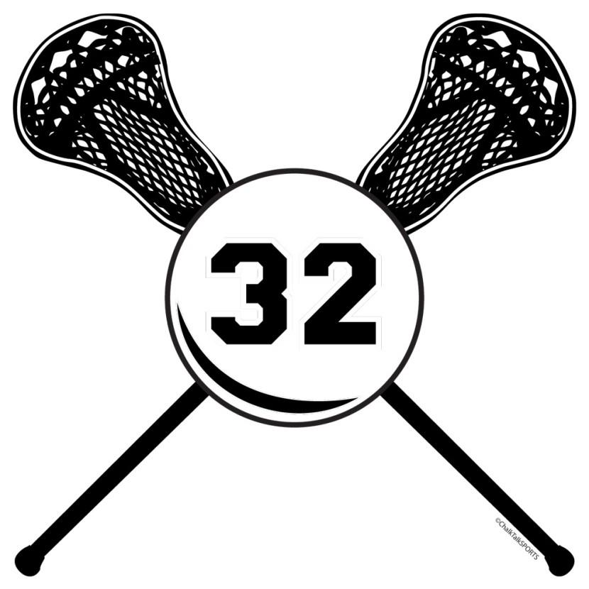 830x830 Lacrosse Stick Clipart