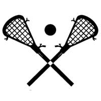 200x200 Lacrosse Sticks 01 Decal Amp Window Sticker