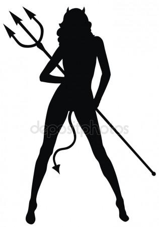 316x450 Devil Woman Stock Vectors, Royalty Free Devil Woman Illustrations
