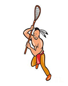 237x300 Lacrosse Sticks Art