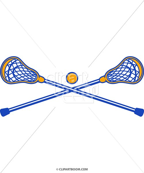 500x600 Vector Lacrosse Clipart For T Shirt Printing