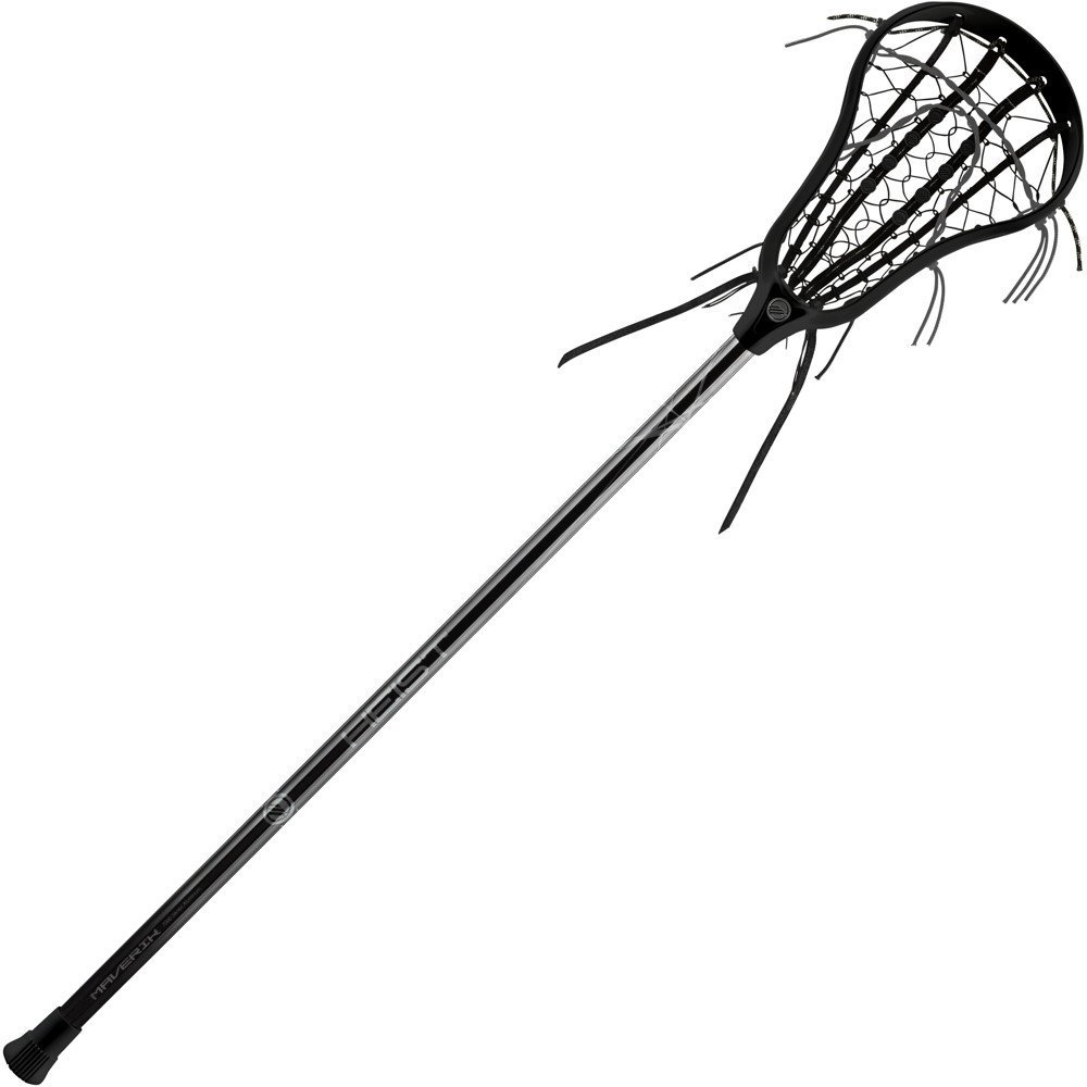 1000x1000 Maverik Lacrosse Female's Heist Complete Stick, Black