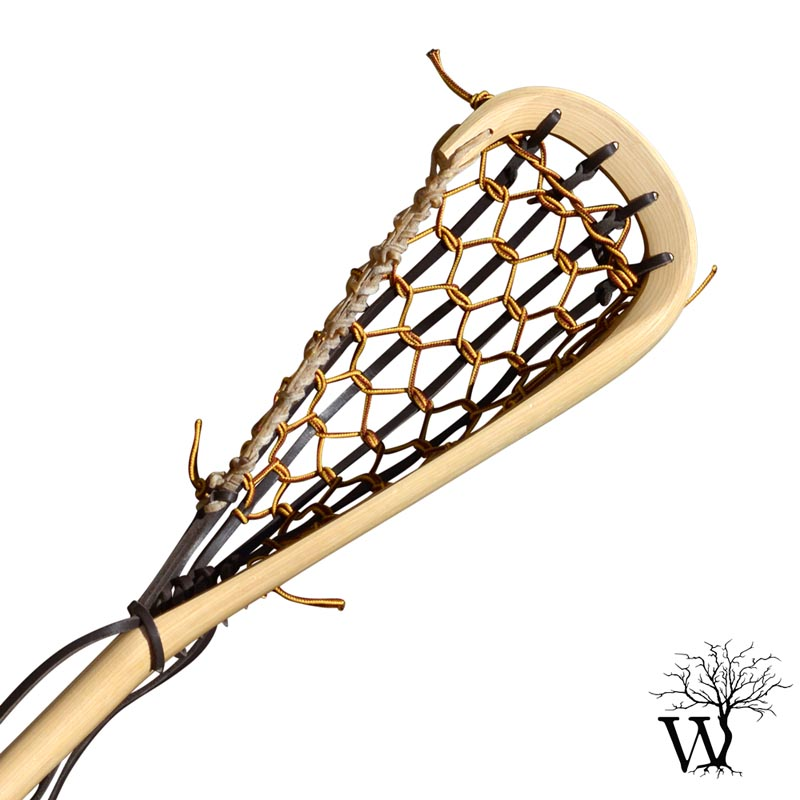 800x800 Mohawk Wooden Box Lacrosse Stick, Native Indian Traditional Stick