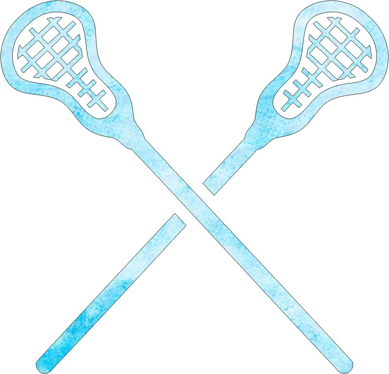 800x770 Lacrosse Stick Light Blue Stickers By Hcohen2000 Redbubble
