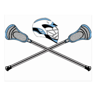 324x324 Lacrosse Stick Postcards Zazzle