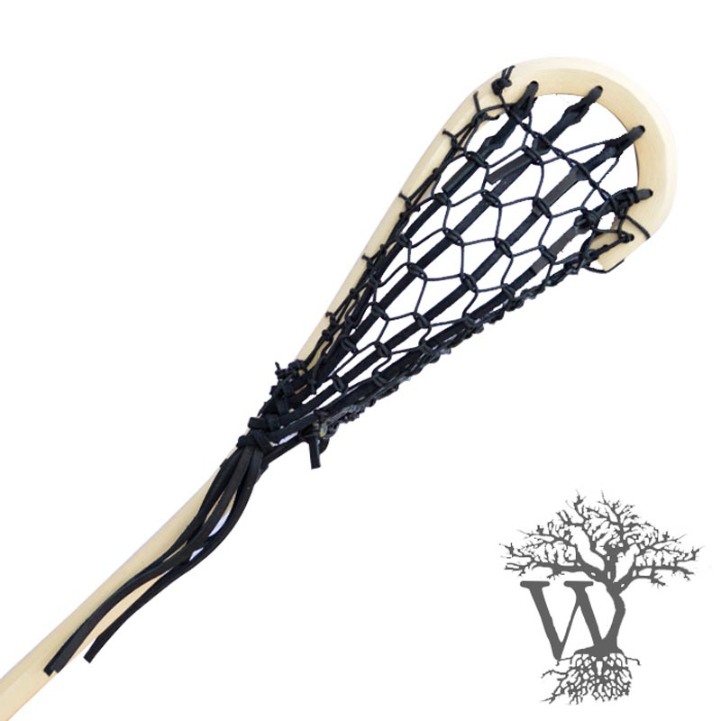 800x800 Wooden Box Lacrosse Stick Custom Leather, Native Indian