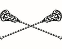 236x187 Lacrosse Stick And Ball Stencil Sports Lacrosse