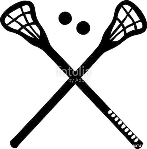 495x500 Crossed Lacrosse Sticks Stock Image And Royalty Free Vector Files