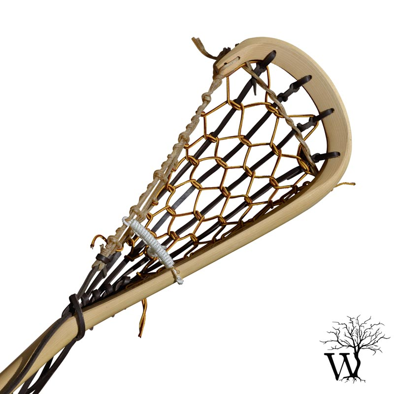 800x800 Mohawk Wooden Field Lacrosse Stick, Native Indian Traditional