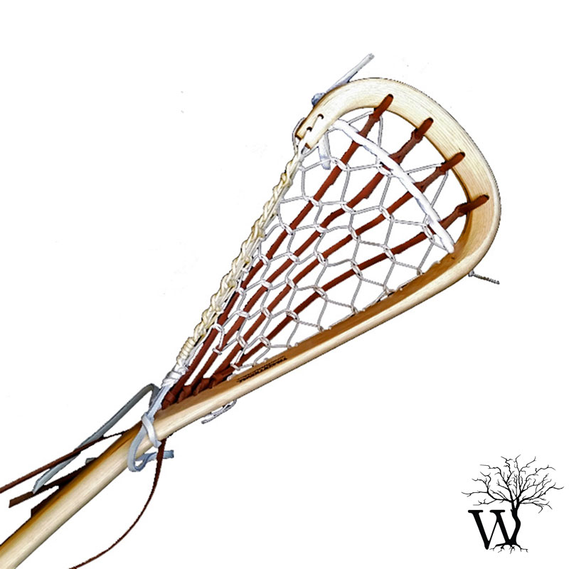 800x800 Wooden Field Lacrosse Stick, Native Indian Traditional Stick
