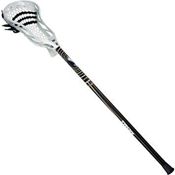 355x355 Tron Pro Attack Lacrosse Stick (Black) Sports