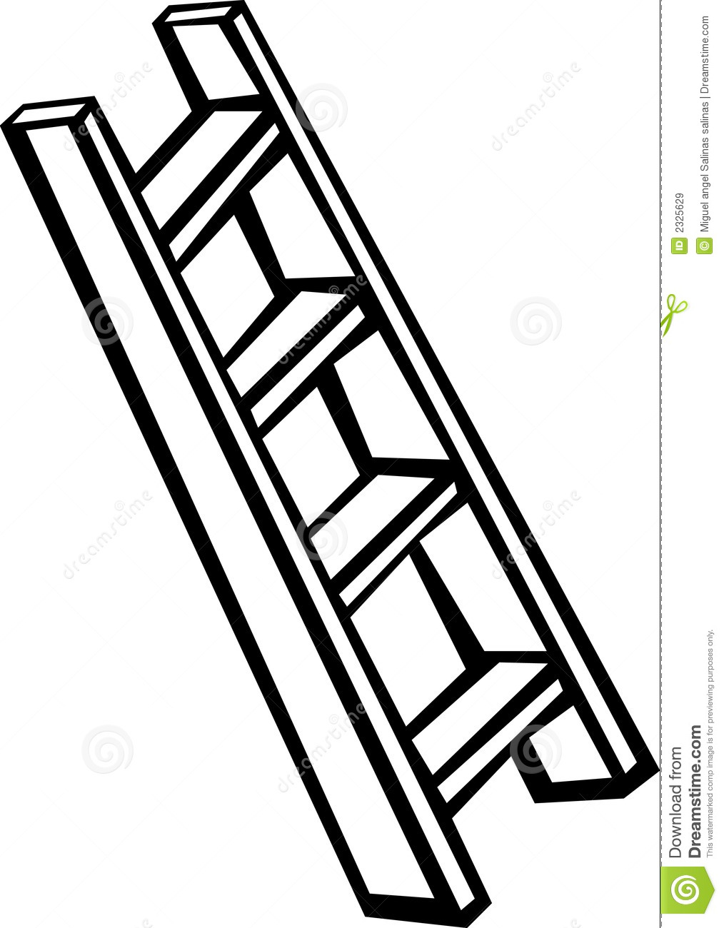 1014x1300 Ladder Black And White Clipart