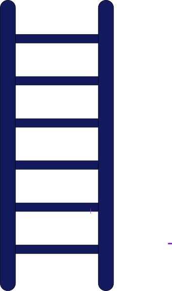 354x597 Ladder Of Growth Clip Art