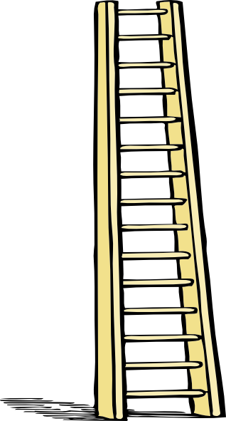 318x591 Ladder Plain Clip Art