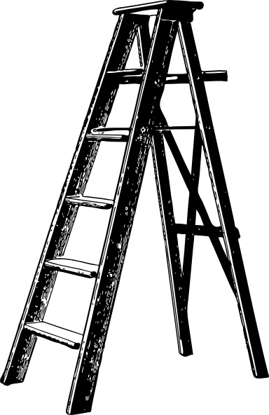 384x592 Ladder Clip Art Free Vector In Open Office Drawing Svg ( Svg