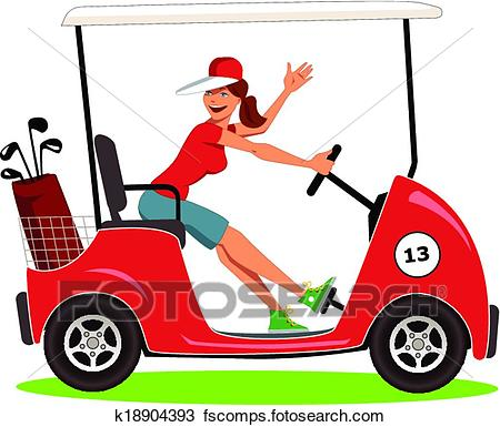 450x385 Golf Woman Clip Art And Illustration. 906 Golf Woman Clipart