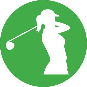 Woman Golf Stock Illustrations, Cliparts And Royalty Free Woman Golf Vectors