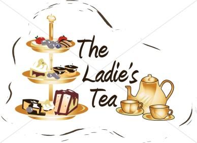 388x282 Ladies Tea Clipart Clipart Church Events And Teas