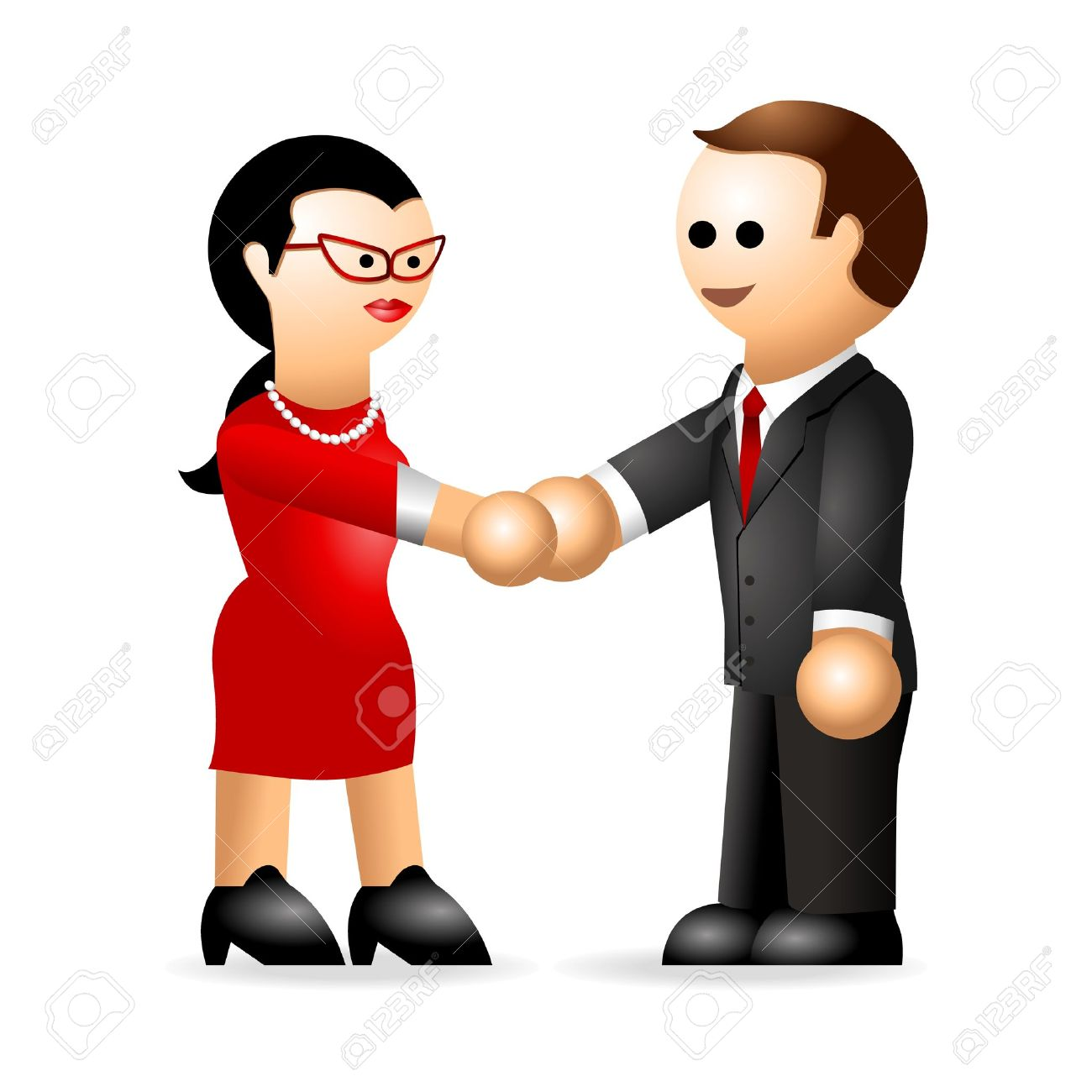 1300x1300 Meeting Clipart Handshake