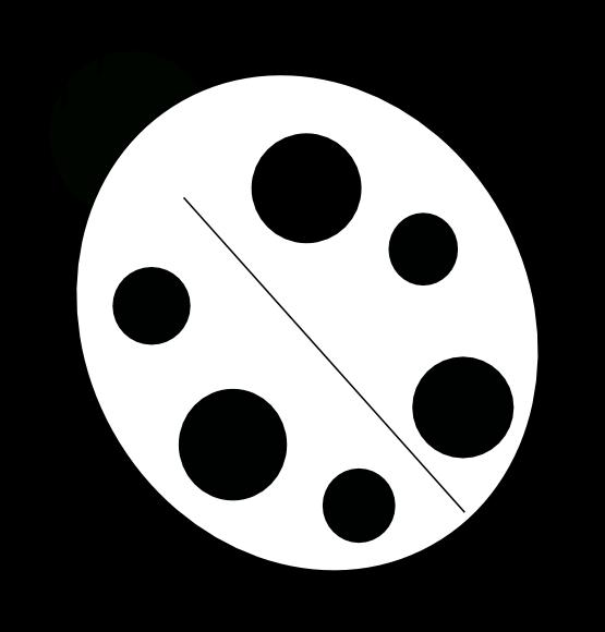 555x580 Ladybug Outline Ladybug Black And White Clipart 6