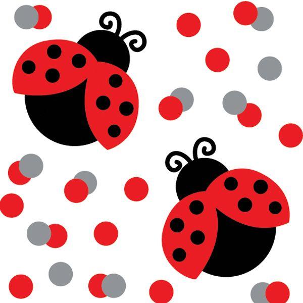 600x600 Clip Art Ladybug Clipart 4