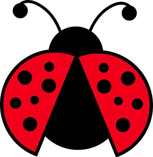 536x550 Clip Art Ladybug Larvae Clipart