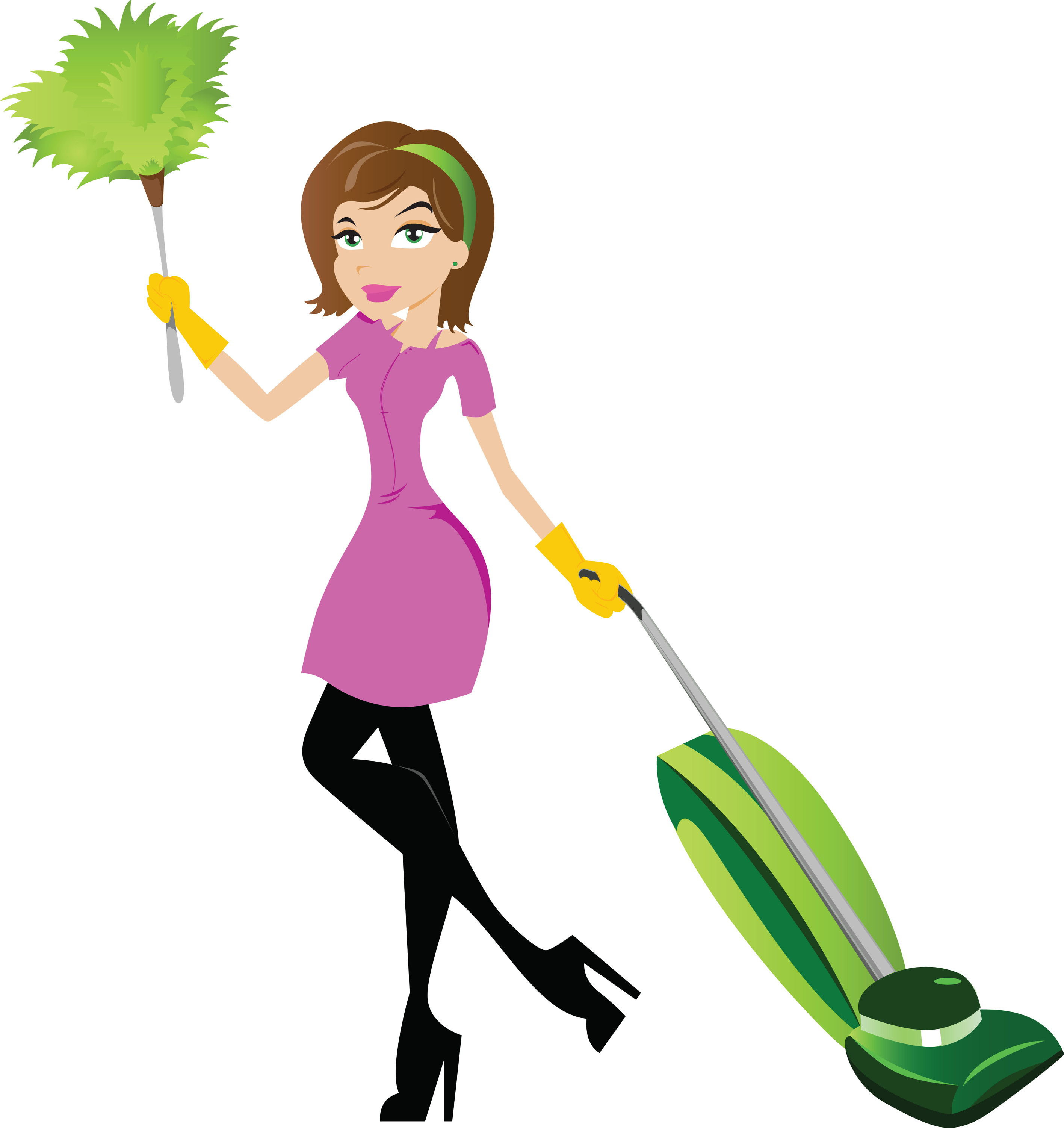 2832x3001 Cartoon Cleaning Lady Clipart Clipart Kid