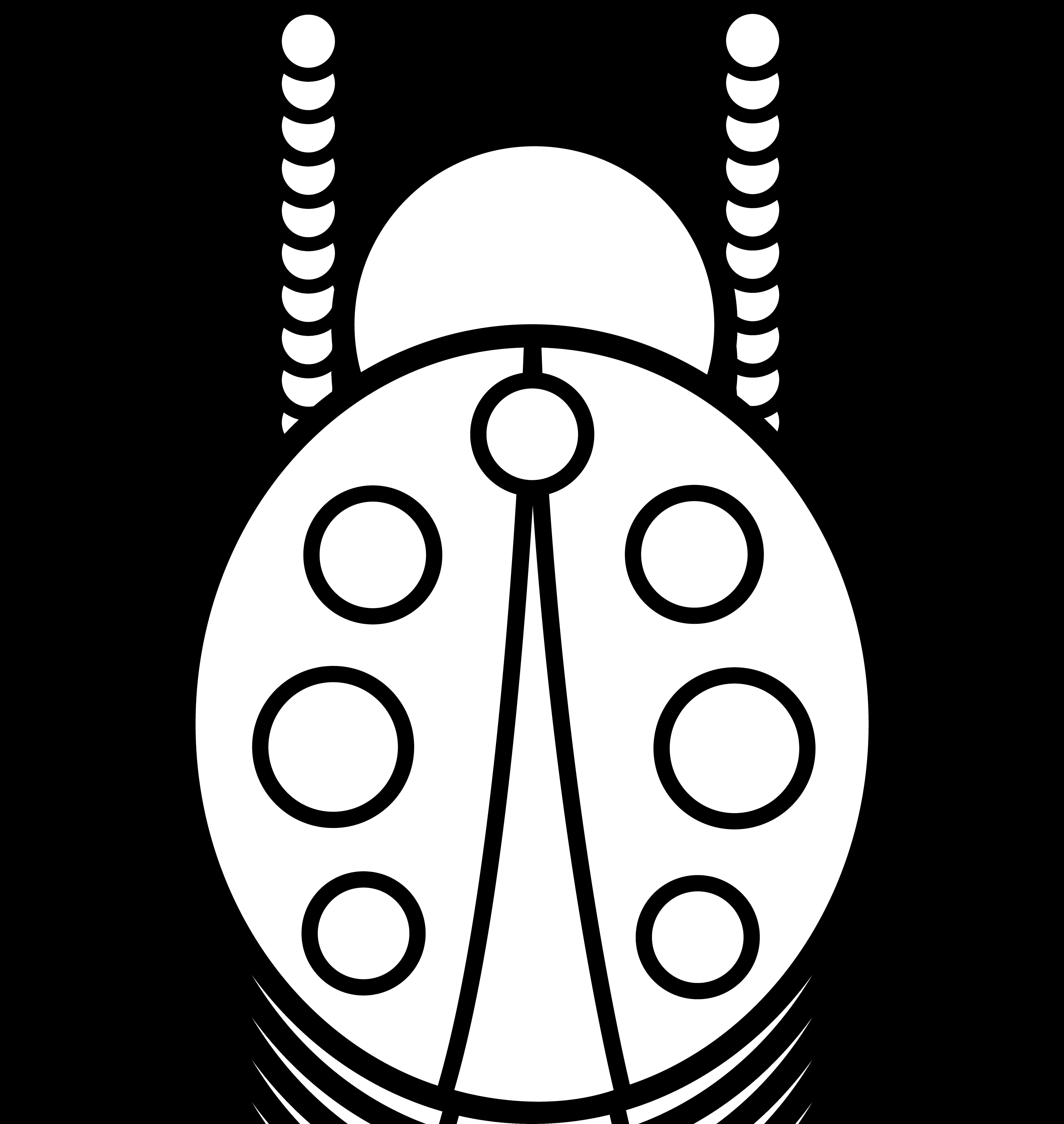 5729x6049 Clip Art Lady Bug