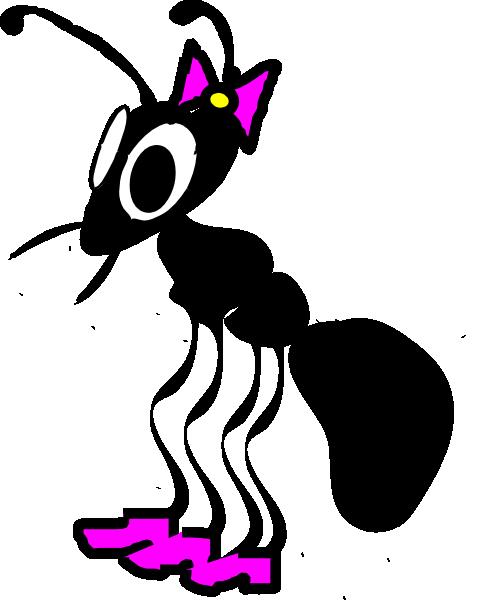 486x600 Lady Ant Clip Art