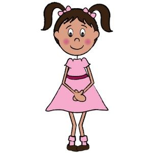 300x300 Lady Clipart
