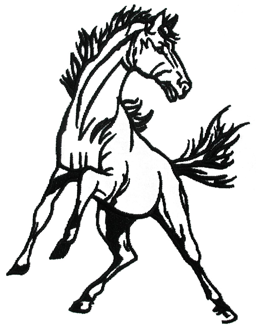 1044x1360 Lady Mustang Cliparts Many Interesting Cliparts