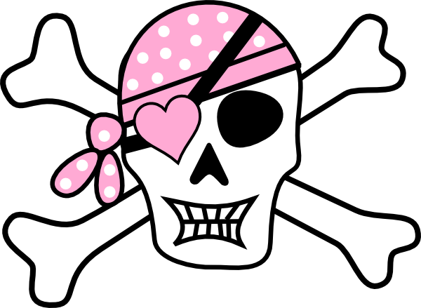600x439 Lady Pirate Clipart Free Clipart Images