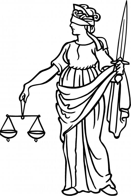 535x800 Lady Justice Clip Art