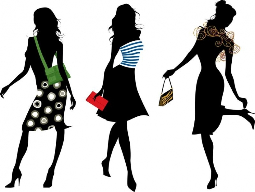 820x617 Model Clipart Fashion Lady