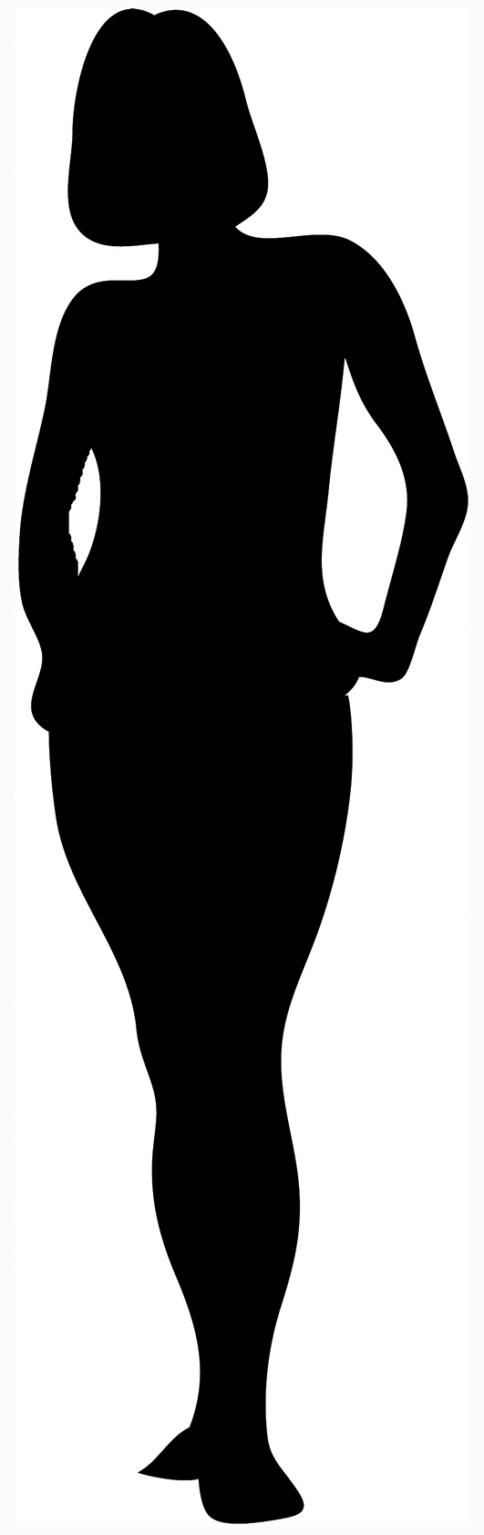 531x1684 Female Silhouette