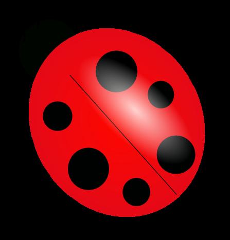 447x467 Free Ladybug Clipart 1 Ladybug Party! Ladybug