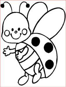 227x300 Drawn Ladybug Black And White