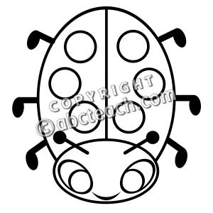 300x300 Ladybug Clipart Head
