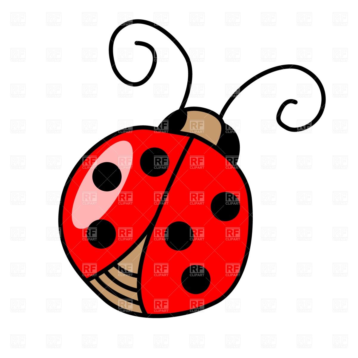 1200x1200 Ladybird Royalty Free Vector Clip Art Image