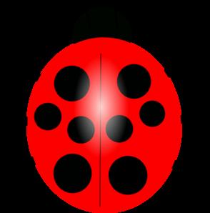 294x298 Red Ladybug Clip Art