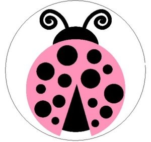 Ladybug Clipart Black And White