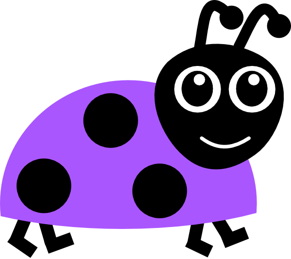 600x534 Purple Mampm Purple Ladybug Clip Art