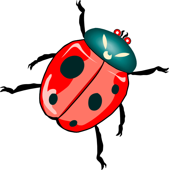 594x596 Lady Bug Clip Art Free Vector 4vector