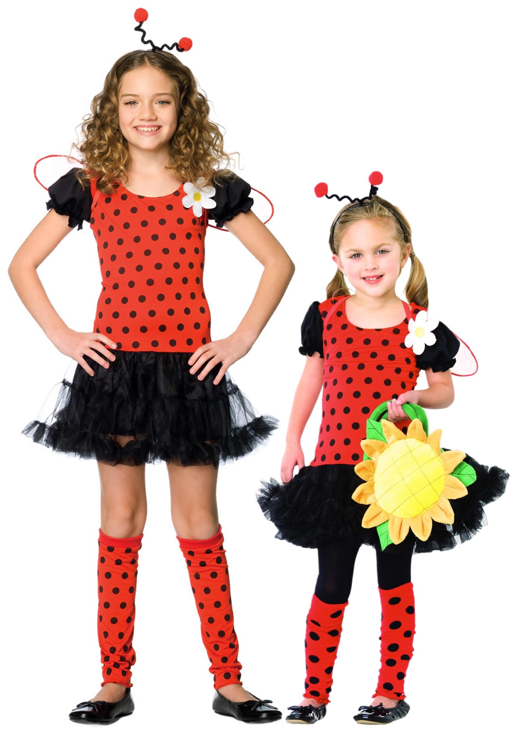 1750x2500 Girls Ladybug Costume